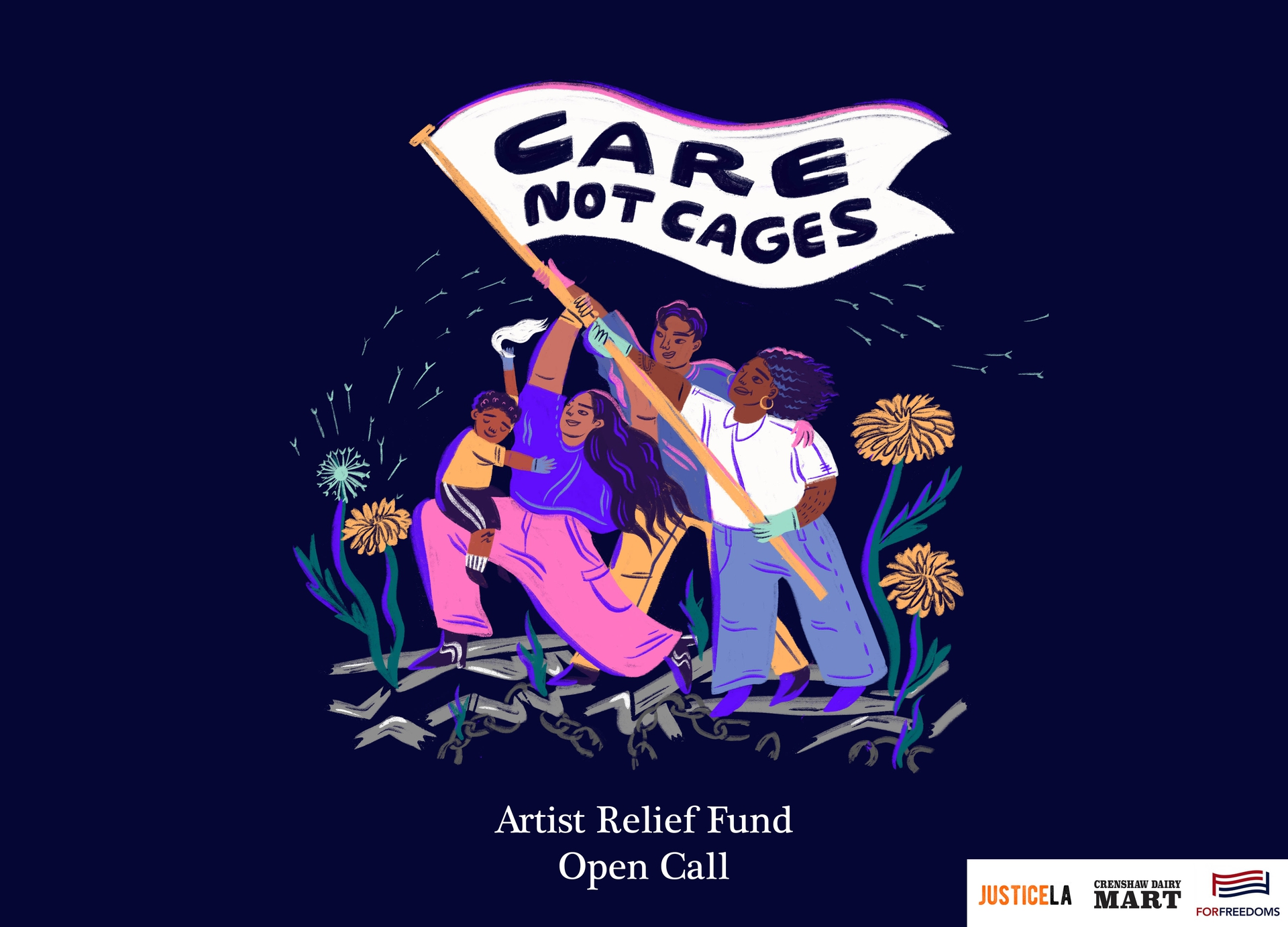Care Not Cages Winners
