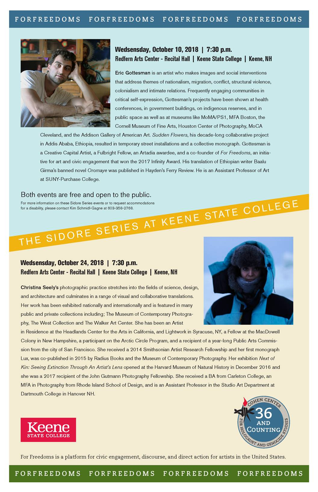 Keene State College to host lecture with visiting artist Christina Seely