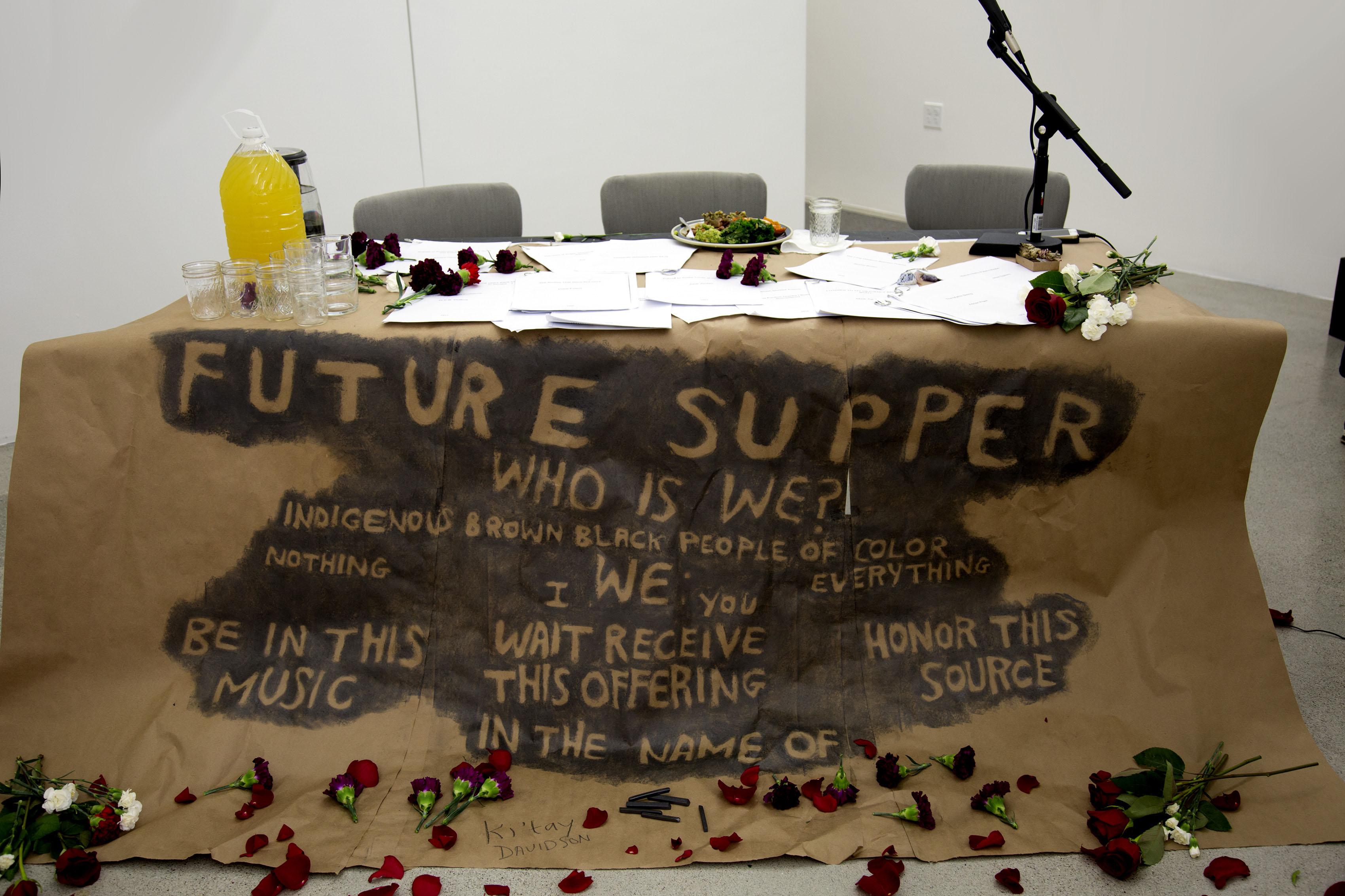 San Jose Museum of Art Future Supper