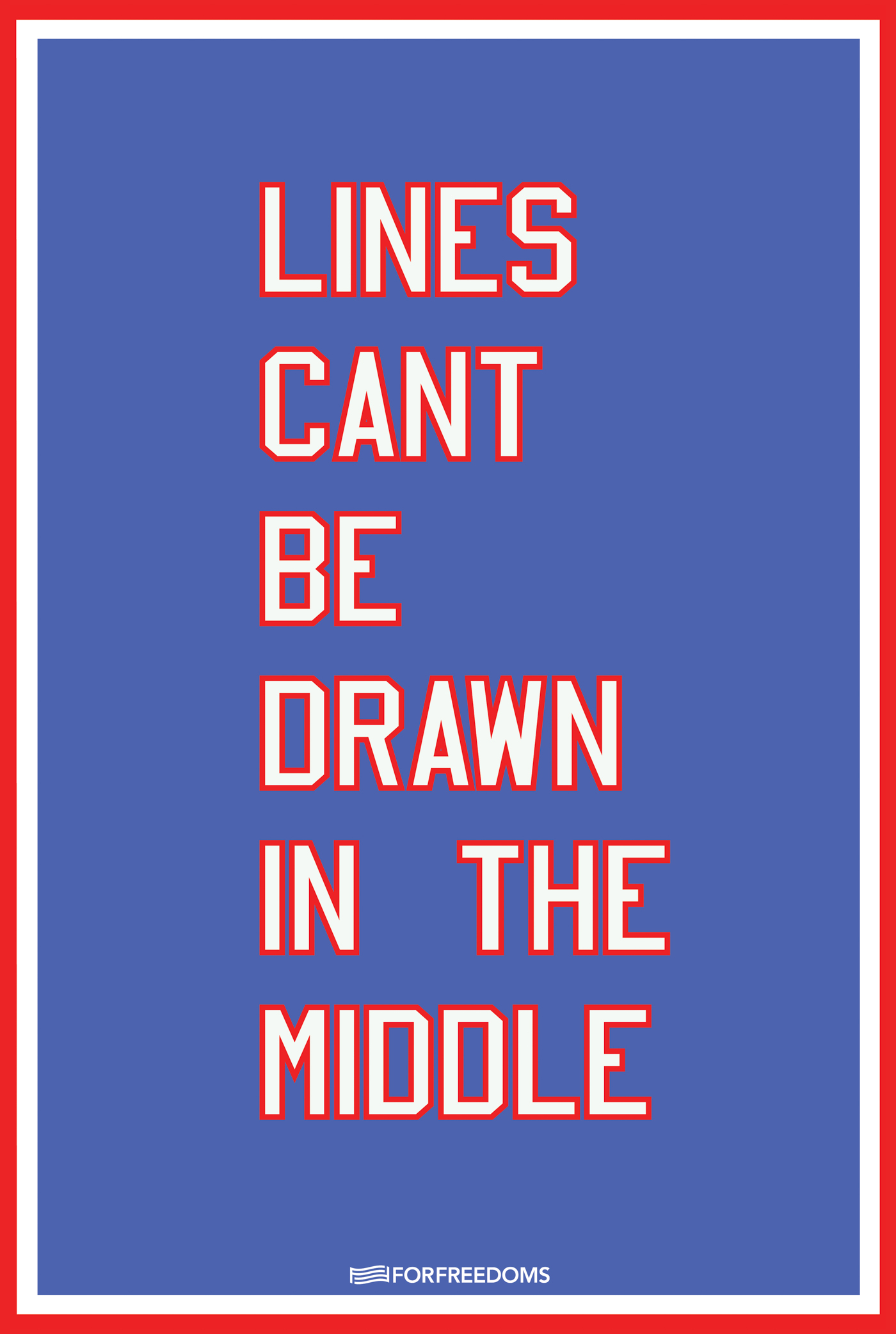 Cheryl Pope, Lines Can't Be Drawn In The Middle