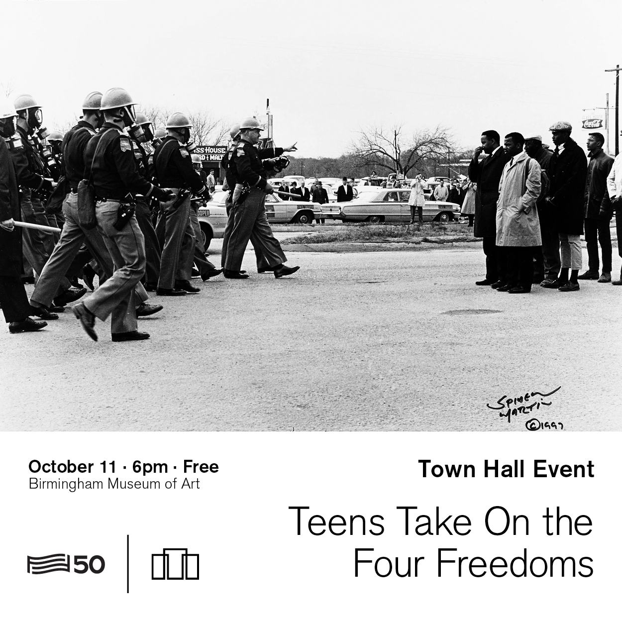 Birmingham Museum of Art to host For Freedoms: Civil Rights and Human Rights Town Hall