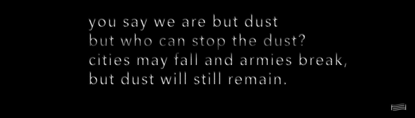 Mariam Ghani, Dust