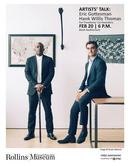 Artist Talk with Hank Willis Thomas and Eric Gottesman